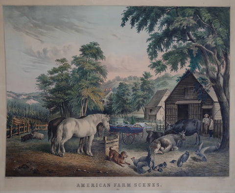 Nathaniel Currier (1813-1888) & James Ives (1824-1895), American Farm Scenes: No.3