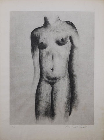 Boris Lovet-Lorski (1894-1973), [Untitled, Female Torso]