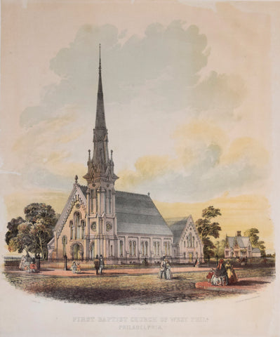 James Fuller Queen (1820 or 1821-1886), First Baptist Church of West Philadelphia