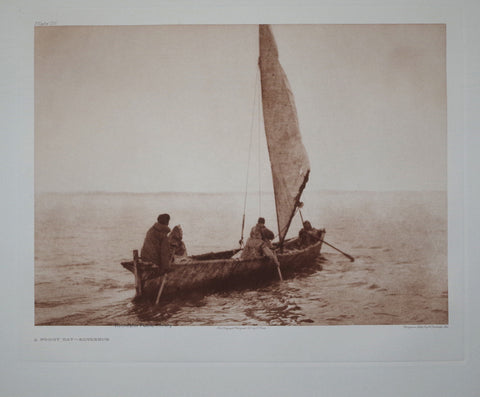 Edward S. Curtis (1868-1953), Foggy Day Kotzebue Pl 711