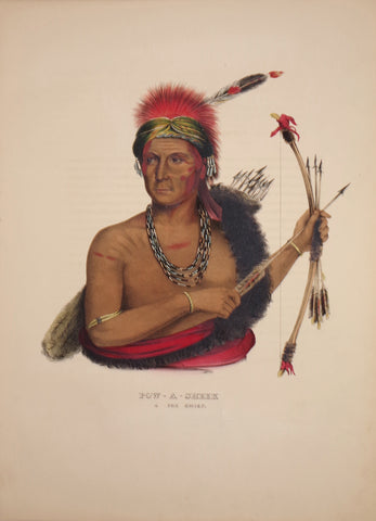 Thomas McKenney (1785-1859) & James Hall (1793-1868), Fox Chief, Pow-A-Sheek
