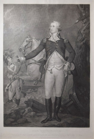 William Warner (1813-1848) after John Trumbull (1756-1843), Gen. Washington (On the Battlefield at Trenton)