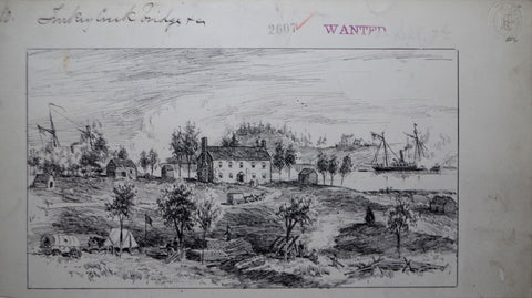 Charles Vanderhoof (1853-1918), General Heintzelman's Headquarters, Malvern Hill, Peninsula