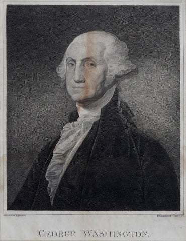 Christian Gobrecht (1785-1844), engraver, George Washington