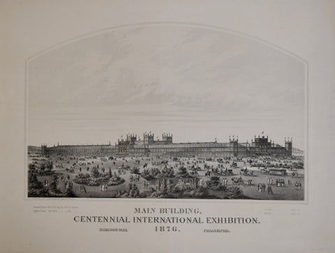 H.J. Toudy, Main Building, Centennial International Exhibition, 1876