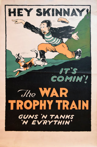 Lentz, artist, Hey Sinnay! The War Trophy Train