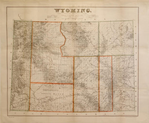 "G.L. Holt, ""Wyoming"""