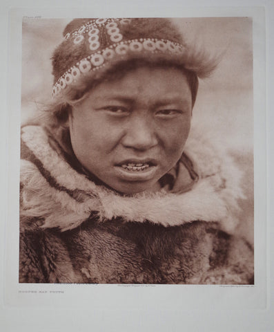 Edward S. Curtis (1868-1953), Hooper Bay Youth Pl 698