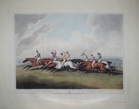 Samuel Howitt (English, ca. 1765-1822), Horse Racing