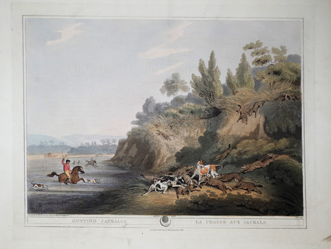 Thomas Williamson (1758-1817) and Samuel Howitt (1765-1822), Hunting Jackalls