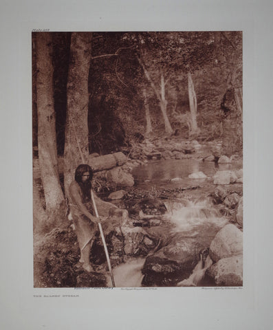 Edward S. Curtis (1868-1953), Hupa Salmon Stream Pl 452
