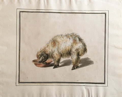 COMPANY SCHOOL (NINETEENTH-CENTURY) [Ram Drinking from a Bowl]
