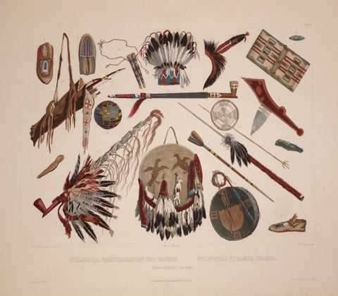 Karl Bodmer (1809-1893), Indian Utensils