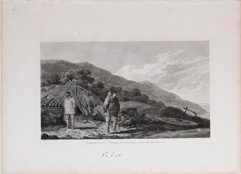 Captain James Cook (1728-1729) and John Webber (1751-1793), Inhabitants of Norton Sound and their Habitations