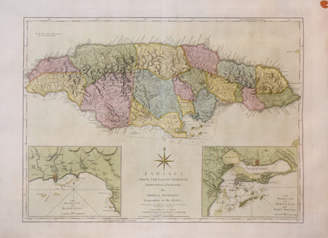 Thomas Jefferys (1719-1771),  Jamaica