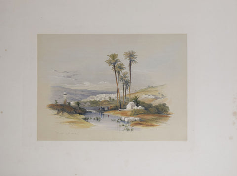 David Roberts (1796-1864),  Jenin, Ancient Jezreel