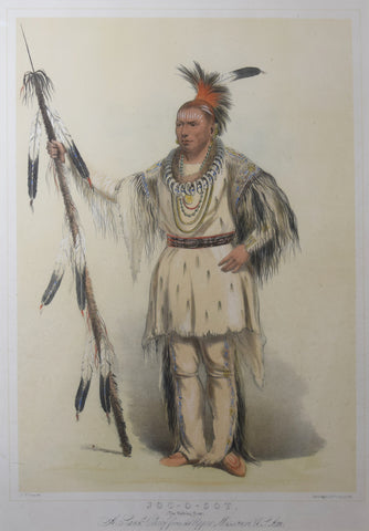George Catlin (1796-1872), Joc-O-Sot, The Walking Bear