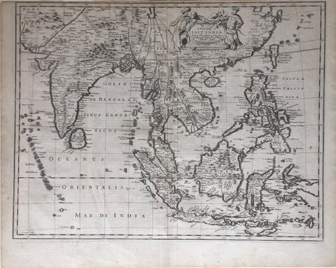 John Speed (1552-1629), A New Map of East India