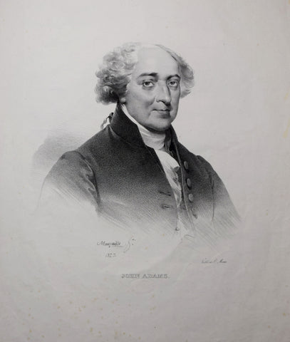 Charles Etienne Pierre Motte (1785-1836), after Mauraisse, John Adams.
