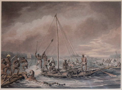 Thomas Williamson (1758-1817) and Samuel Howitt (1765-1822), Killing Game in Boats