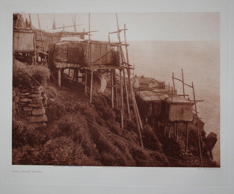 Edward S. Curtis (1868-1953), King Island Homes Pl 702