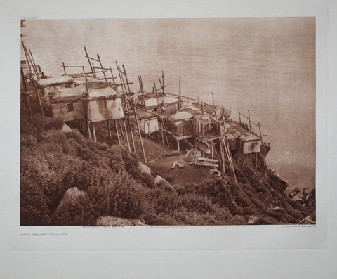 Edward S. Curtis (1868-1953), King Island Village Pl 701