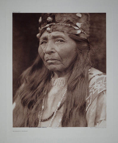 Edward S. Curtis (1868-1953), Klamath Woman Pl 436