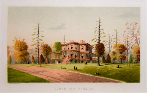 David J. Kennedy, Lemon Hill Mansion