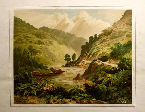 John Gully (1819-1888), Manawatu Gorge - Wellington