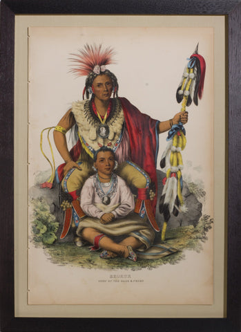 Thomas L. McKenney (1785-1859) & James Hall (1793-1868), Keokuk, Chief of the Sacs and Foxes