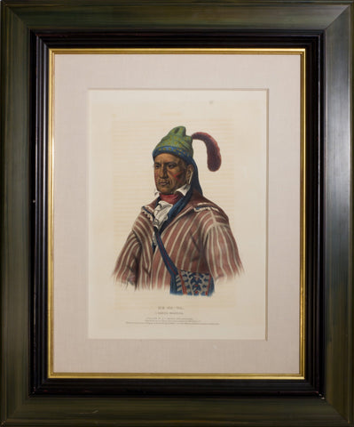 Thomas L. McKenney (1785-1859) & James Hall (1793-1868), Me-Na-Wa, A Creek Warrior