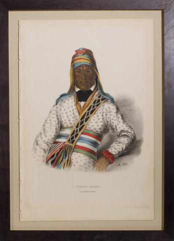 Thomas L. McKenney (1785-1859) & James Hall (1793-1868), Yoholo-Micco, A Creek Chief