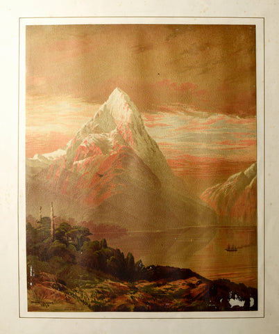 John Gully (1819-1888), Mitre Peak - Milford Sound