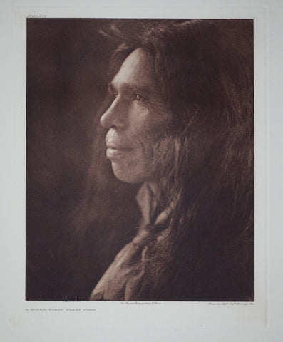 Edward S. Curtis (1868-1953), Pl 476 Mixed Blood Pomo