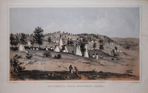 Alfred E. Mathews (1831-1874), Monuments, Near Monument Creek