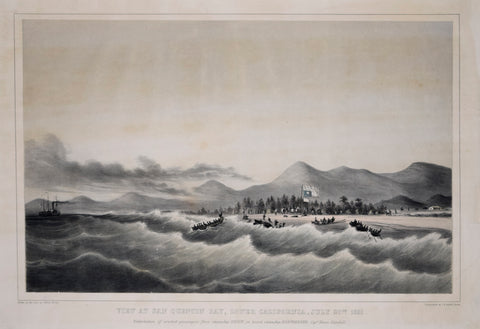 Edwin Moody, View at San Quentin Bay, Lower California, July 20th 1851