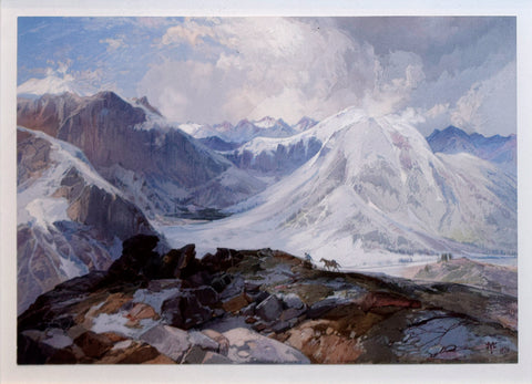 Thomas Moran (1837-1926), The Mosquito Trail Rocky Mountains of Colorado, Elevation 12000 Feet