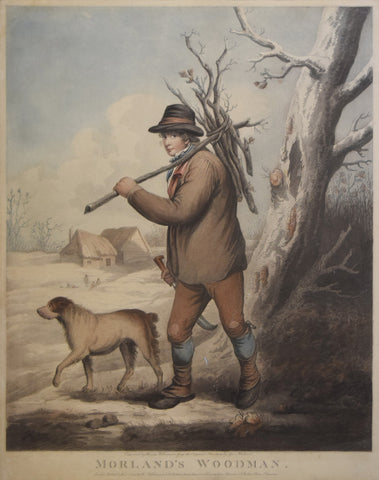 George Morland (1763-1804), after, Morland's Woodman