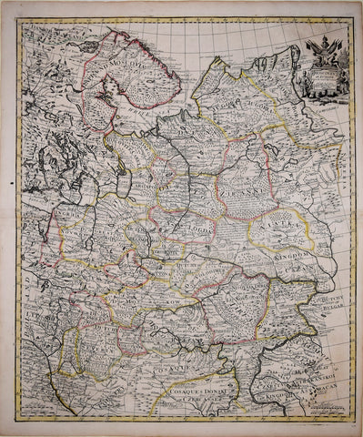 John Senex (1678-1740), Moscovey in Europe from the Latest Observations..