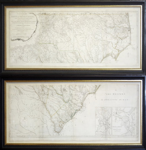 Henry Mouzon (d.1777), An Accurate Map of North and South Carolina