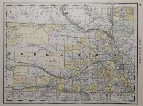 Rand McNally & Co., Nebraska