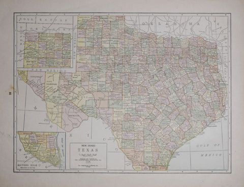 The Geographical Publishing Company, New Series Texas