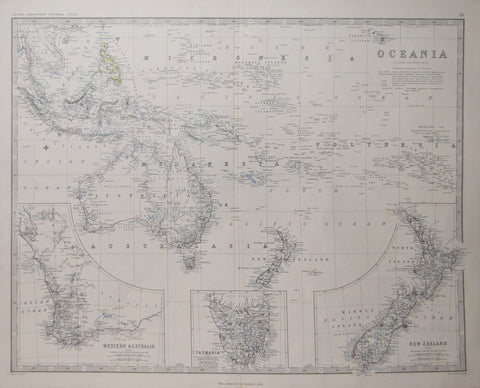 Keith Alexander Johnston (1804-1871), Oceania…