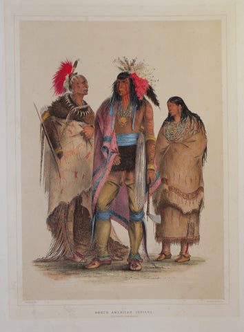 George Catlin (1796-1872), North American Indians