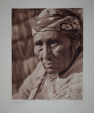 Edward S. Curtis (1868-1953), Old Klammath Woman Pl 440