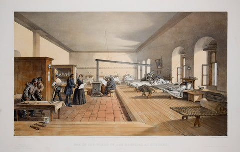 William Simpson (1823-1899), Illustrator, One of the Wards of the Hospital at Scutari