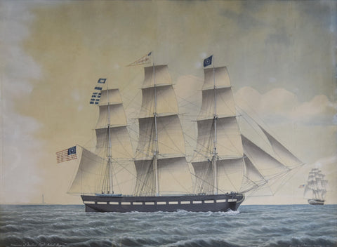 Jacob Petersen (Danish, 1774-1854), Oronoco of Boston Capt. Robert Rogers