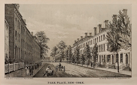 George Hayward, Park Place, New-York