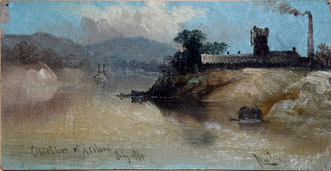 Paul Brown, Ohio River of Ashland July 1881