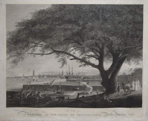 After Thomas Birch (1779-1851), The City of Philadelphia in the State of Pennsylvania North America